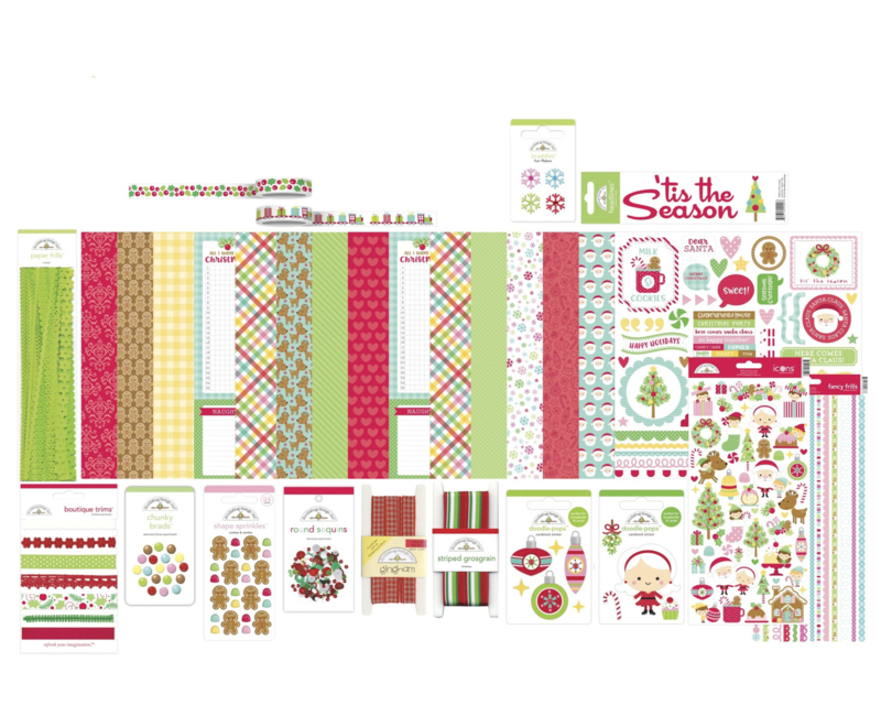 Doodlebug Design Christmas Magic Value Bundle