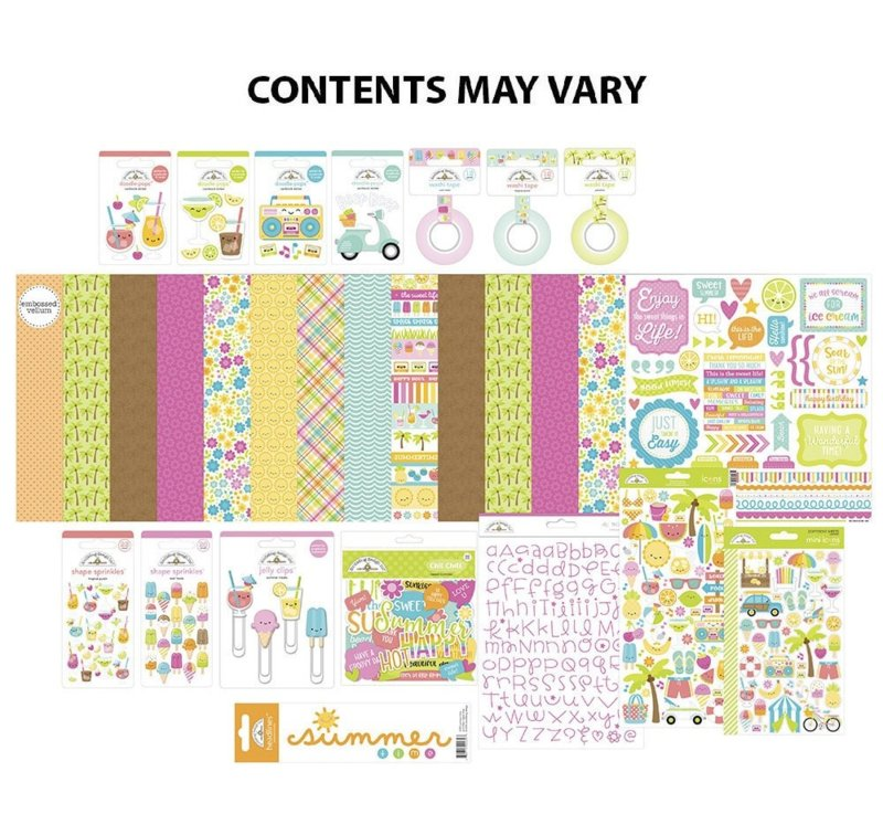 Doodlebug Design Sweet Summer Value Bundle