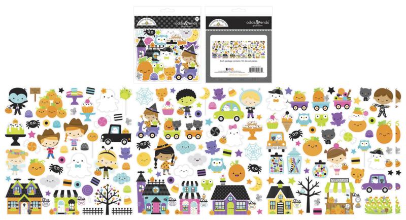 Doodlebug Design Ghost Town Odds & Ends