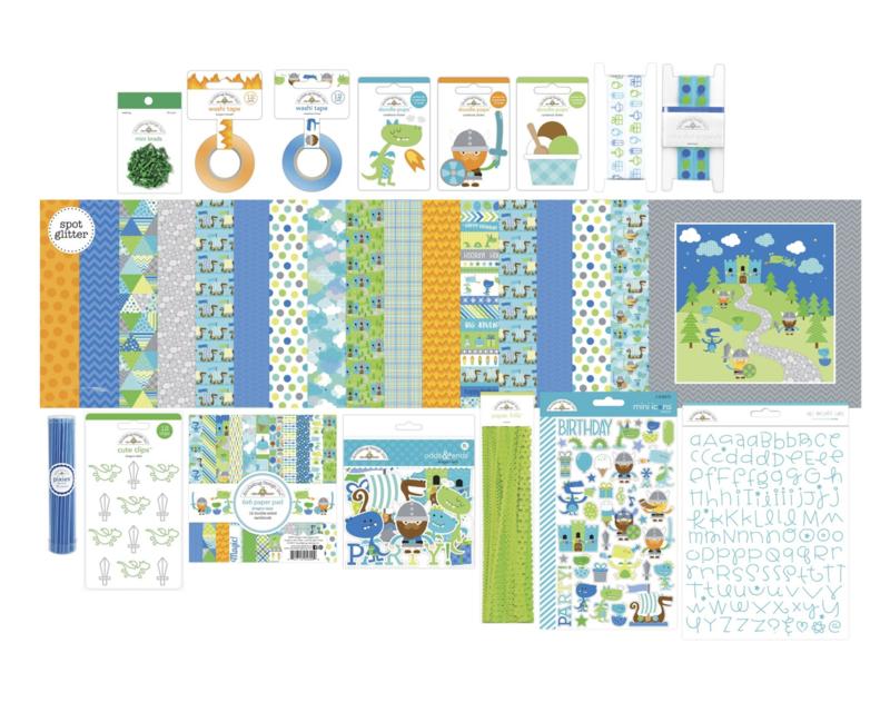 Doodlebug Design Dragon Tails Value Bundle