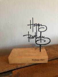Kaarthouder happy birthday