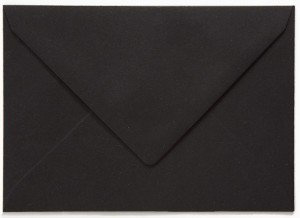 Recycling zwarte envelop
