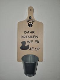 Daar drinken we er ????je op