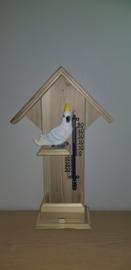Thermometer huisje Kaketoe