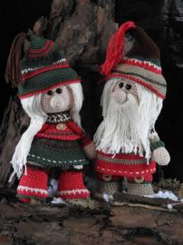 Haakpakket Funny Gnoomy set Christmas