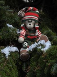 XXL Funny Bunny kledingset Christmas glassic boy