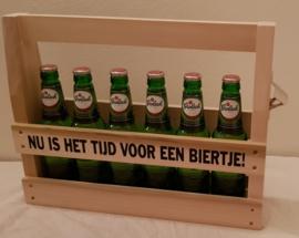 Nu is het tijd voor een biertje