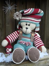 XXL Funny Bunny kledingset Christmas nordic boy