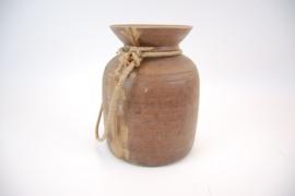 Indisch houten pot 30 cm