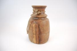 Indisch houten pot 36 cm