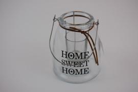 Waxine licht houder glas