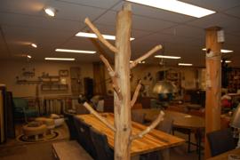 Kapstok hout
