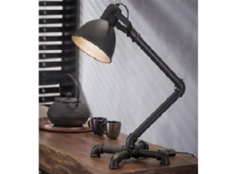 Tafellamp Tubo Coppa zwart