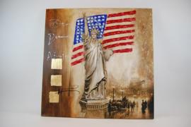 Schilderij Vrijheidsbeeld