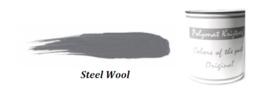 Polymat krijtverf - Steel wool