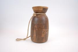 Indisch houten pot 35 cm