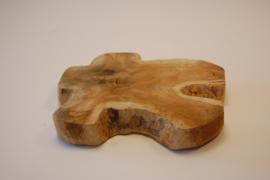 Teak houten dienblad