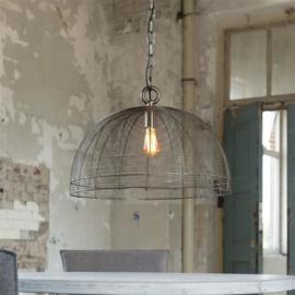 Hanglamp draad Ø60 Zwart nikkel