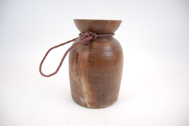 Indisch houten pot 32 cm