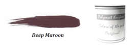 Polymat krijtverf - Deep maroon