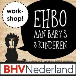 Workshop 'EHBO aan baby's en kinderen'
