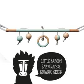 babytrapeze 'little baboon' (botanic green)