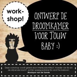 Workshop ontwerp de droomkamer voor jouw baby