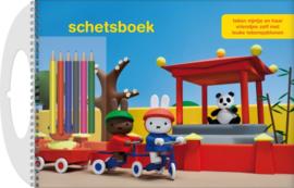 Schetsboek Nijntje met sjablonen