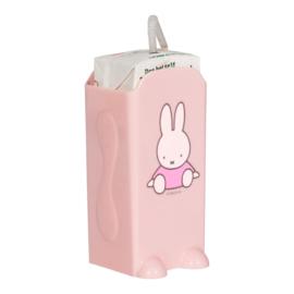 Nijntje pakjeshouder roze met of zonder naam