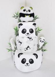 Luiertaart Panda 3-laags