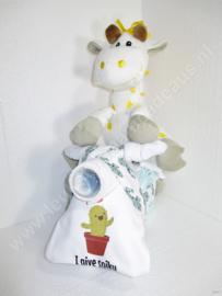 Motor Giraf jongen en baby's eerste rijbewijs