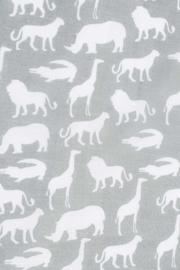 Hydrofiel luiers Safari stone grey 4 pak
