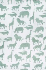 Hydrofiel luiers Safari forest green 4 pak