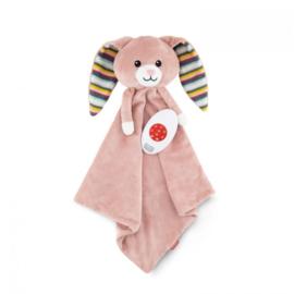 Zazu Heartbeat knuffeldoekje Becky het konijn met of zonder naam