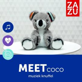 Zazu Heartbeat Knuffel Coco de Koala met Geluid