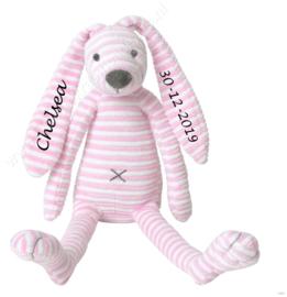 Happy Horse pink Rabbit Reece met of zonder naam 28 cm