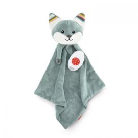 Zazu Heartbeat knuffeldoekje Felix de vos met of zonder naam