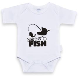 Romper Born to Fish