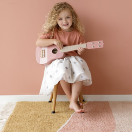 Little Dutch Gitaar roze