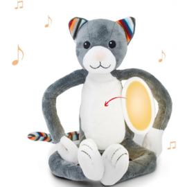 Zazu Kat katie muzikaal nachtlampje met of zonder naam