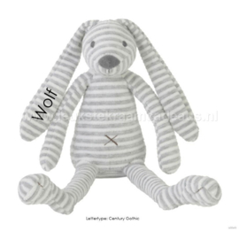 Happy Horse grey Rabbit Reece met of zonder naam 28 cm