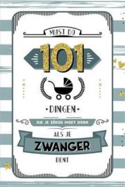 Boek 101 dingen de je zeker moet doen als je zwanger bent