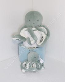 Luiertaart Little Dutch octopus mint / groen 2-laags