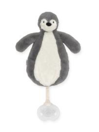 Jollein knuffel / speendoekje Pinguin storm grey