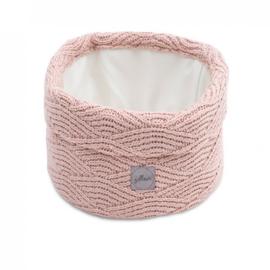 Jollein opbergmand River knit roze