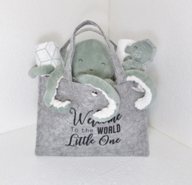 Tas Little Dutch octopus / rammelaar groen