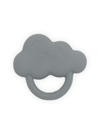 Bijtring rubber Cloud Storm Grey