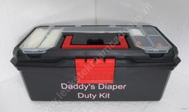 Daddy`s Diaper Duty Kit klein Koetje meisje