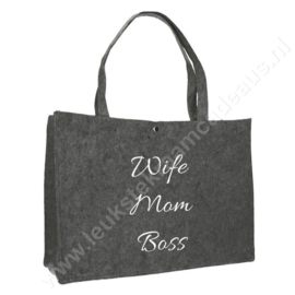 Tas Wife Mom Boss
