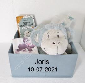 Canvas mand Happy Horse eventueel met naam en geboortedatum